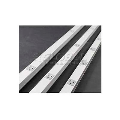 Wiremold 24s7218gbx99iv Plugmold, 125v, 15a, 6'L - Min Qty 2