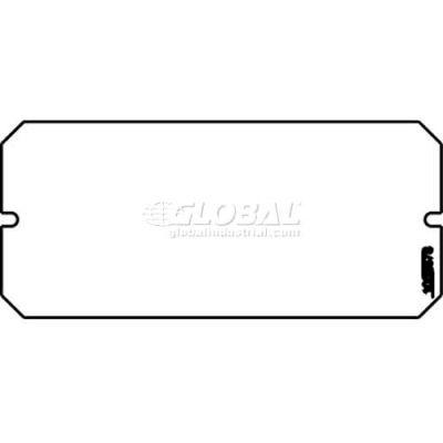 Wiremold 6b Poke-Thru 1-1/2-Gang Blank Plate - Pkg Qty 10