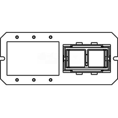 Wiremold 6maap2a Poke-Thru 1-1/2-Gang Extron Maap/2a Plate - Pkg Qty 5