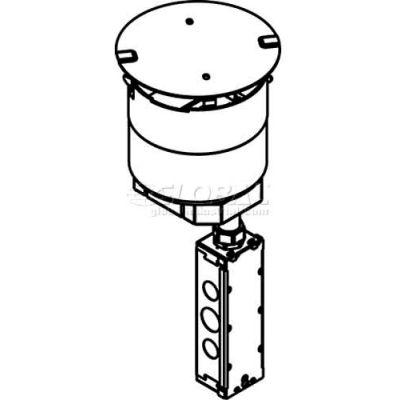Wiremold 6trac Poke-Thru 1-1/2-Gang Ortronics Tracjack Plate - Pkg Qty 10