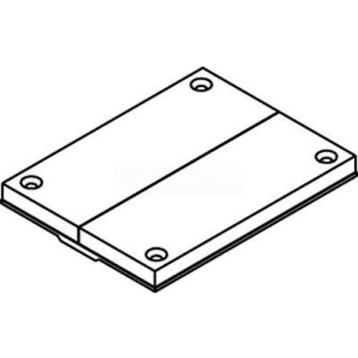 Wiremold 829pck-Blk Floor Box Communication Cover, Black, Breakouts - Pkg Qty 10