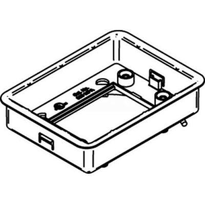 Wiremold 880mpa Floor Box Adjusting Ring, Modular Rectangular - Pkg Qty 8