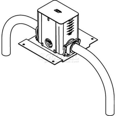 Wiremold 880MPFC Floor Box Non-Metallic Floor Box, Rectangular, Fire Classified