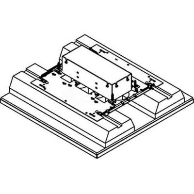 Wiremold 8803S-FC Floor Box 3-Gang Floor Box, Fire Classified, Flush