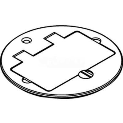 Wiremold 895tgfial Floor Box Tile Gfi, Aluminum Cover - Pkg Qty 8