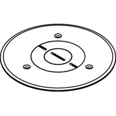 """Wiremold 896pck-Al Floor Box Conversion Kit, Alum., Polycarbonate Cvr., 1"""" & 3/4"""" Openings - Pkg Qty 8"""