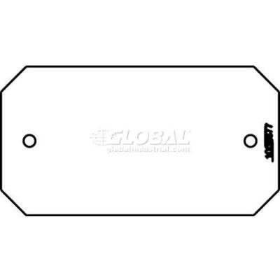 Wiremold 8b Poke-Thru 1-Gang Blank Plate - Pkg Qty 10