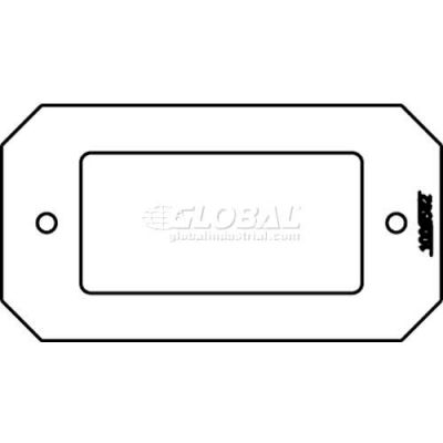 Wiremold 8dec Poke-Thru 1-Gang Decorator Plate - Pkg Qty 10