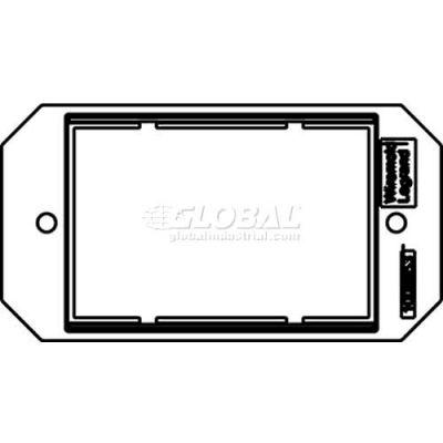 Wiremold 8ser Poke-Thru 1-Gang Ortronics Series Ii Plate - Pkg Qty 10