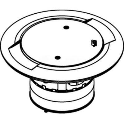 "Wiremold ABPLUG4 Poke-Thru Core Hole Plug, 4"""