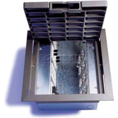 Wiremold AC10105-2 Floor Box AC Raised Floorbox