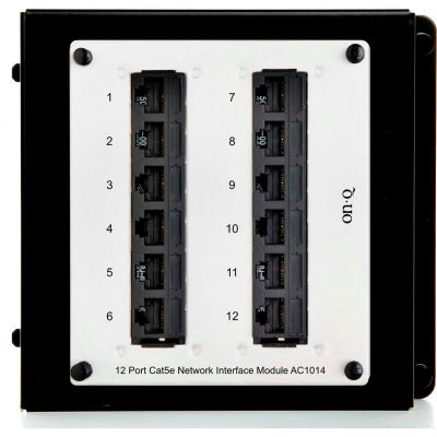 Legrand® AC1014 12-Port Cat 5e Network Interface Module