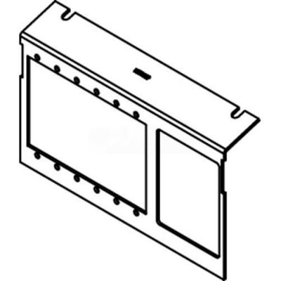 Wiremold C8005P-AAP-6A Floor Box AC Series Device Plates W/6 Aap Devices & 6 Ports