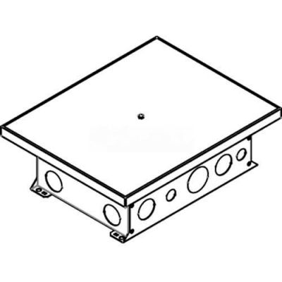 Wiremold CCBBS-OG Floor Box Small Ballroom Box, On-Grade