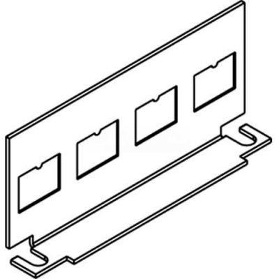 Wiremold Cilt-4tko Floor Box Communication Plate W/4rj Ko'S - Pkg Qty 10