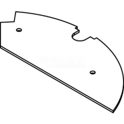 Wiremold Crfb-B-2 Floor Box Blank Device Plate, For Round Raised Floor Box - Pkg Qty 10