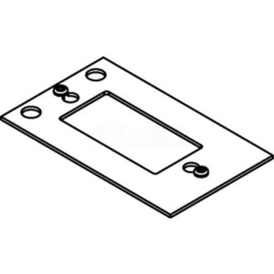 Wiremold Crfb-Gfi-4 Floor Box Decorator Device Plate #4 - Pkg Qty 10