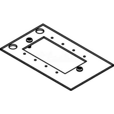 Wiremold CRFB-MAAP-4 Floor Box CRFB Series Audio Video Device Plate #4