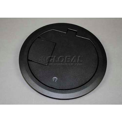 Wiremold CRFBCTCBKTR Floor Box CRFB Series Cover Assembly Tamper Resistant, Black