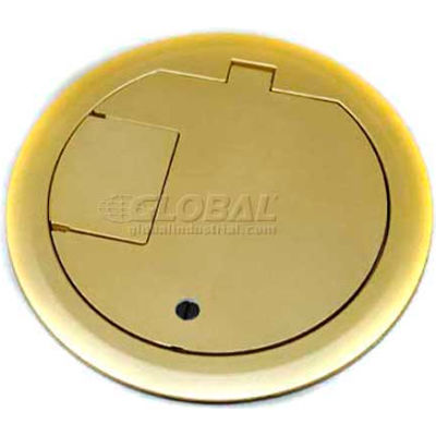 Wiremold CRFBCTCBZTR Floor Box CRFB Series Cover Assembly Tamper Resistant, Bronze