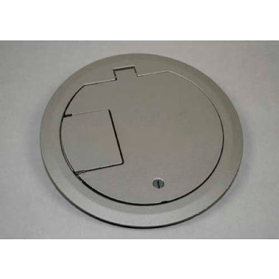 Wiremold CRFBCTCGYTR Floor Box CRFB Series Cover Assembly Tamper Resistant, Gray