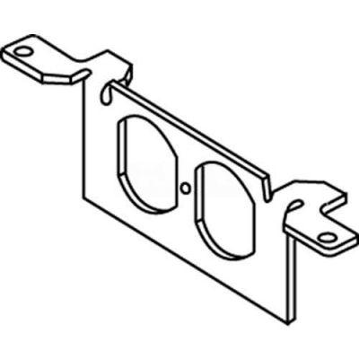 Wiremold Dtb-2-Sd Floor Box Communication Bracket W/Duplex Opening - Pkg Qty 10