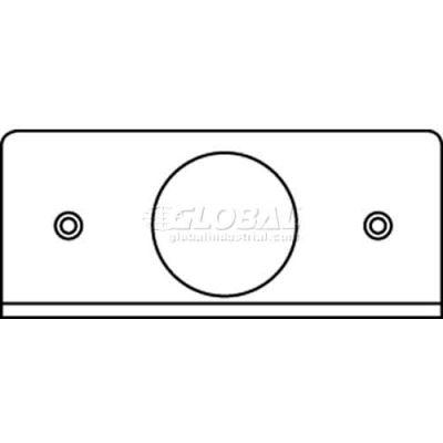 "Wiremold Fifp-1.562 Poke-Thru 1-Gang Plate, (1) 1.562"" Ko - Pkg Qty 20"