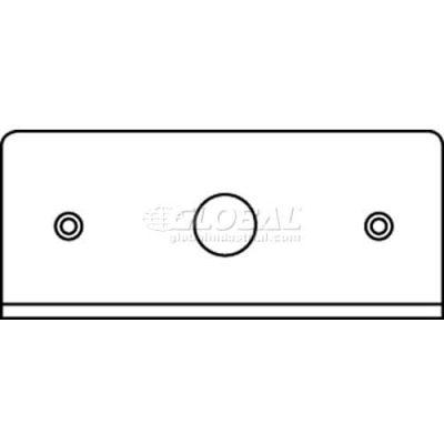 "Wiremold Fifp50 Poke-Thru 1-Gang Plate, 1/2"" Ko - Pkg Qty 20"