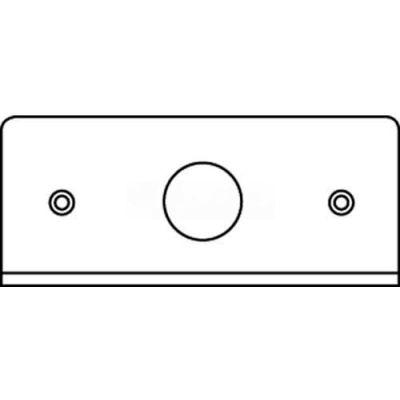 "Wiremold Fifp75 Poke-Thru 1-Gang Plate, 3/4"" Ko - Pkg Qty 20"