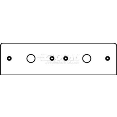 "Wiremold Fp50-50 Poke-Thru 2-Gang Plate W/(2) 1/2"" Kos - Pkg Qty 20"