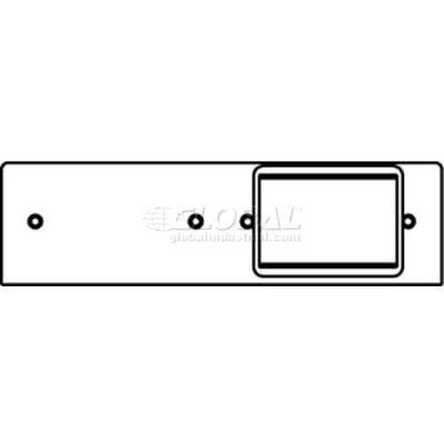Wiremold Fpb-Act Poke-Thru 2-Gang Plate W/(1) 6a Mini Adapter Bezel - Pkg Qty 20