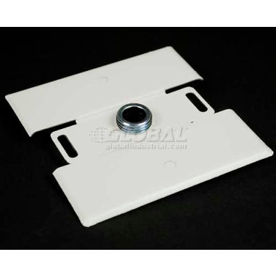 Wiremold G2051H Flush Plate Adaptor, 125V, 15A,