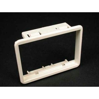 Wiremold Mab3s2-G Floor Box Ortronics Series Ii Bezel, Gray - Pkg Qty 25