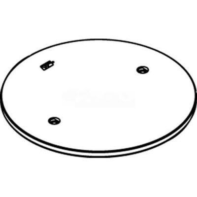 Wiremold RC4APTCGY Poke-Thru Abandonment Plate, Gray