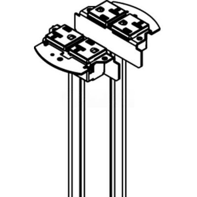 Wiremold RC4REC2 Poke-Thru 2-20A Duplex Replacement Receptacles, Standard or IG
