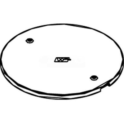 Wiremold RC7APTCBK Poke-Thru Abandonment Plate, Black