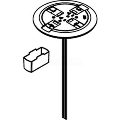 Wiremold RC7KTCBS Poke-Thru Scrub Water Retro Kit, Brass