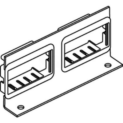 Wiremold Rfb-2ab-Ss Floor Box Internal Bracket W/(2) 2a Mini Adapter Bezels - Pkg Qty 10