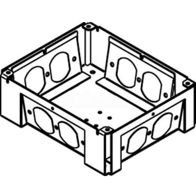 Wiremold RFB-WTB Floor Box Conversion Kit for RFB4 to convert to RFB4-4DB