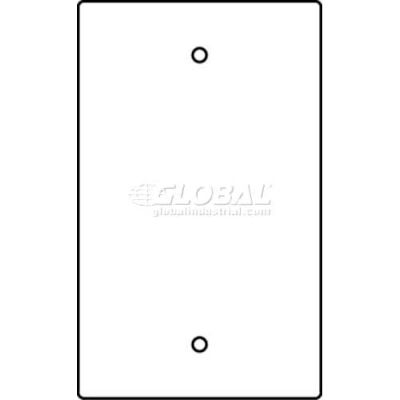 Wiremold Rfb119-B Floor Box 1-Gang Blank Device Plate - Pkg Qty 10
