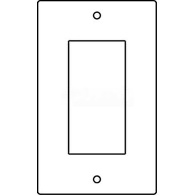 Wiremold Rfb119-Gfi Floor Box 1-Gang Gfi Receptacle Device Plate - Pkg Qty 10