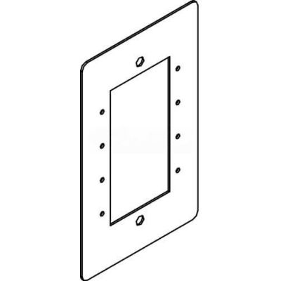 Wiremold RFB119-MAAP Floor Box Rfb9 And Rfb11 Single Gang Device Plate for Extron MAAP