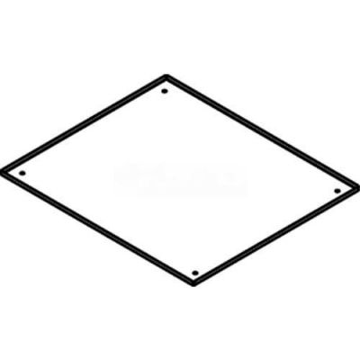 """Wiremold Rfb119-Pan Floor Bx Mudcap, For Terrazzo Floor Applications, Thicker Than 1/4"""" - Pkg Qty 10"""