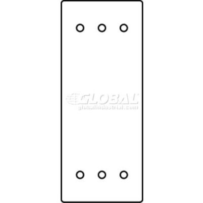 Wiremold Rfb119-Sb Floor Box 1-Gang Blank Sectional Device Plate - Pkg Qty 10