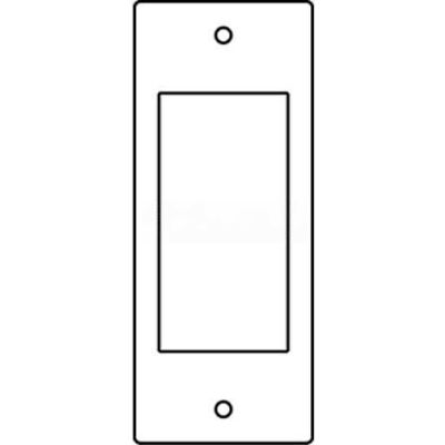 Wiremold Rfb119-Sgfi Floor Box 1-Gang Gfi Receptacle Sectional Device Plate - Pkg Qty 10