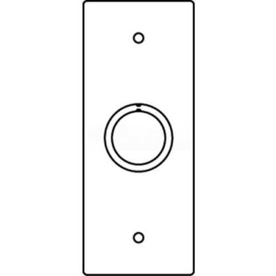 """Wiremold Rfb119-Sko Floor Bx 1-Gng Combo Device Plate, 1/2"""" & 3/4"""" Trade Size Sectional - Pkg Qty 10"""