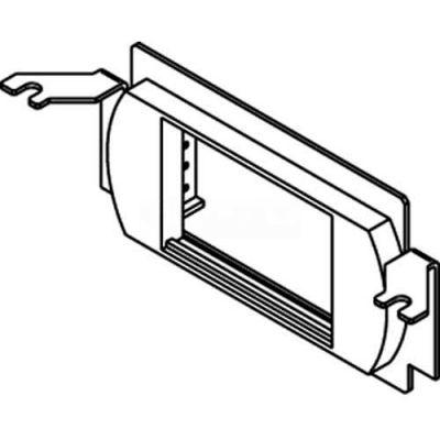 Wiremold Rfb4-Lpb Floor Box Communication Bracket W/One Low Profile Bezel - Pkg Qty 10
