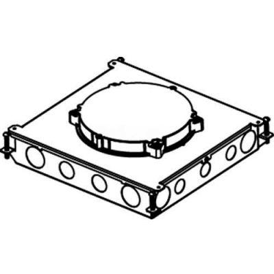 Wiremold RFB6E-OG Floor Box 6-Gang On Grade Concrete Floor Box for Evolution Cover