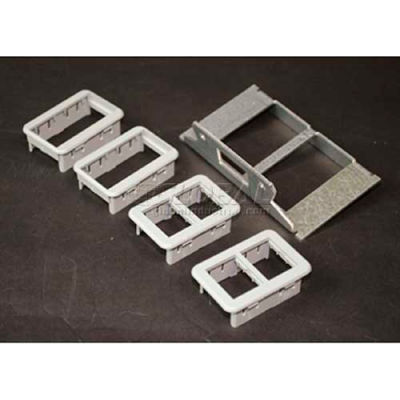 Wiremold Rfb6rt Floor Box Ortronics Plate - Pkg Qty 5