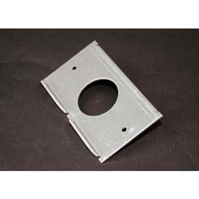 Wiremold Rfb6s1 Floor Box Single Receptacle Plate - Pkg Qty 10